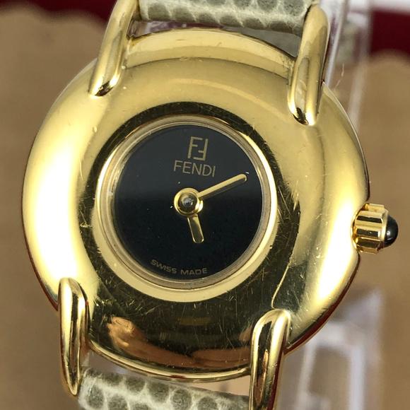 Fendi watch gold tone 400L Swiss Made Watch